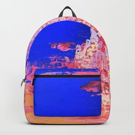 Into the Mist Pantone Color of the Year 2016 Abstract Backpack