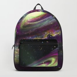 Unicorn Head Galaxy Backpack