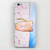 polkadot iPhone & iPod Skins featuring Polkadot Cat by Jessy Belanger
