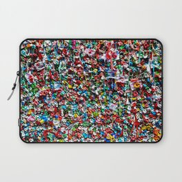 Pop of Color - Seattle Gum Wall Laptop Sleeve