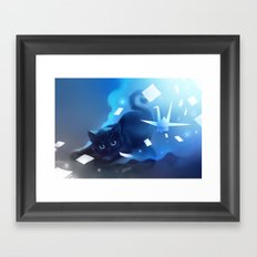 Yin Mirrors Framed Art Print