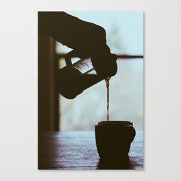 The Perfect Pour Canvas Print