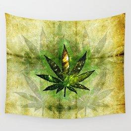 Marijuana Leaf Wall Tapestry
