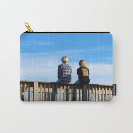 Teen Boys At The Beach Carry-All Pouch