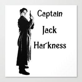 Captain Jack Harkness - Torchwood Canvas Print