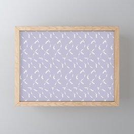 Dancing flames #2 Framed Mini Art Print