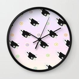 Chew Chew Patch Wall Clock