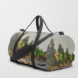Upstate New York Gorges Duffle Bag