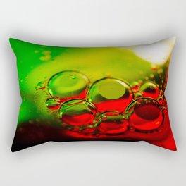 Bubble Art Multi Colored Illustration Rectangular Pillow