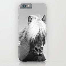 Portrait of a Horse in Scotish Highlands iPhone 6s Slim Case