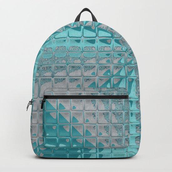 Aqua Reflections Backpack