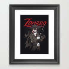 Zombro Framed Art Print