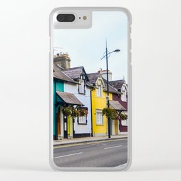 Colourful Street Clear iPhone Case