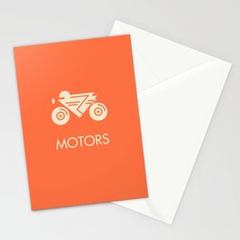 MOTORS / The Bike Stationery Cards