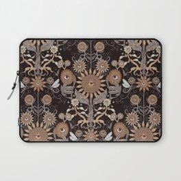 Mutant Helianthus Damask - Winter Laptop Sleeve