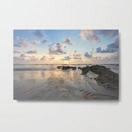 Dream Beach In Thailand At Sunset Metal Print