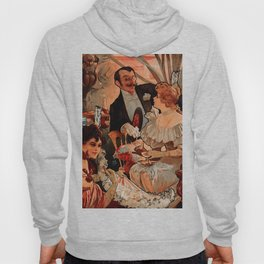 "Alphonse Mucha ""Biscuits Champagne Lefèvre Utile"" Hoody"