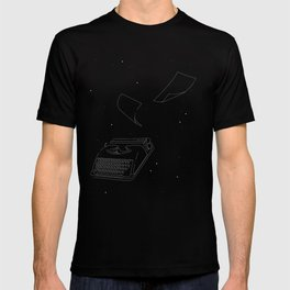 Typewriters in Space T-shirt