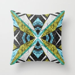 Marble Geometric Background G442 Throw Pillow