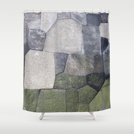 An imperial wall Shower Curtain