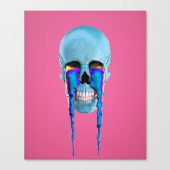 skull 23 aka bacon Canvas Print