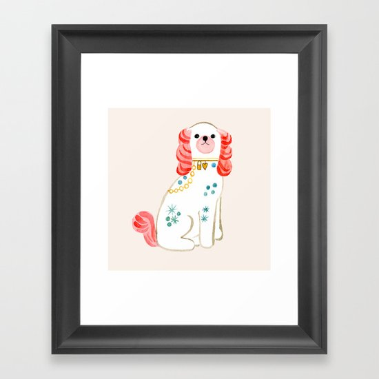 Spaniel Framed Art Print