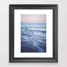 Pacific Ocean Waves Framed Art Print