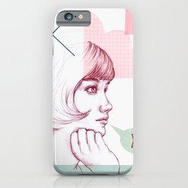 Classroom Girl iPhone Case