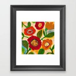 park flower3 Framed Art Print
