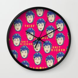 Dawn Davenport FEMALE TROUBLE Divine JOHN WATERS Wall Clock