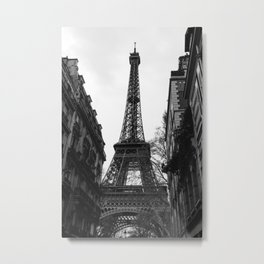 Noir Paris VIII Metal Print