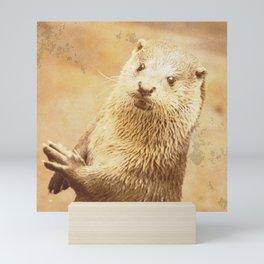 Vintage Animals - Otter Mini Art Print