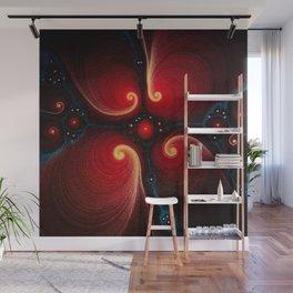 Golden Ratio - Logarithmic Light Spirals Wall Mural
