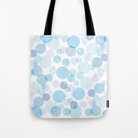 bubble Tote Bags featuring Bubble by FACTORIE