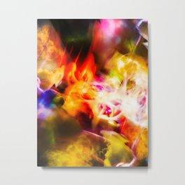"""""""Coloring The Sky 10"""" Metal Print"""