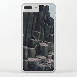 Reynisfjara, Iceland Clear iPhone Case