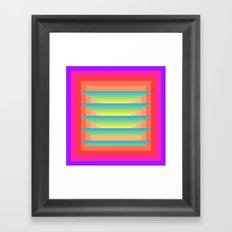 Gradient Fades v.4 Framed Art Print