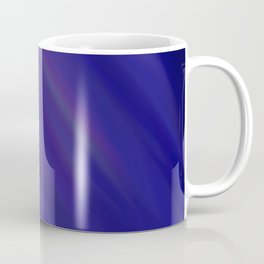 Finding Peace - Abstract, smooth, silky blue painting, peaceful, relaxing, modern art Coffee Mug