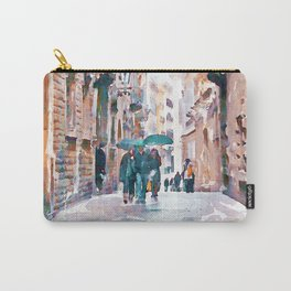Carrer del Bisbe - Barcelona Carry-All Pouch