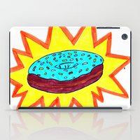donut iPad Cases featuring Donut by Tesseract
