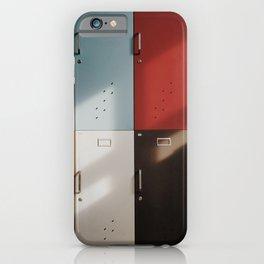Color lockers iPhone Case