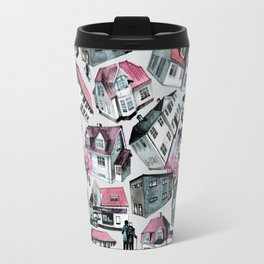 Danish small town pattern Travel Mug