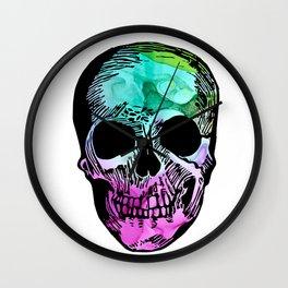 Boho Skull I Wall Clock
