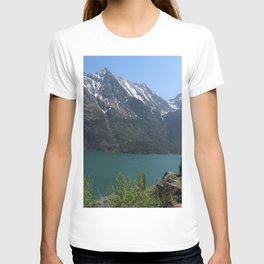 St. Mary Lake Montana  T-shirt