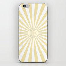 Starburst (Vanilla/White) iPhone & iPod Skin