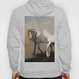Unicorn love in the rainbow world Hoody