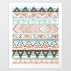 Tribal Wonder  Art Print