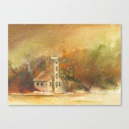 Autumn at Grand Island Canvas Print