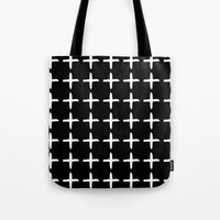 positive Tote Bags featuring Positive by Dream Of Forest