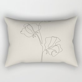 Sweet Pea II Rectangular Pillow